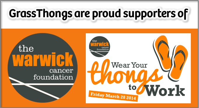 Grass Thongs Support Charity